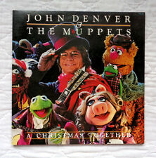 RCA Victor John Denver & The Muppets A Christmas Together lp, WITH POSTER, NM!