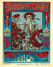 "Grateful Dead Concert Poster Replica 11 x 14"" Photo Print"