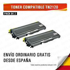 BROTHER TN2120 / TN2110 / TN360 NEGRO CARTUCHO DE TONER COMPATIBLE Pack 2