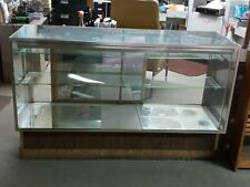 Glass Store Display Showcase Shelves 38 X 60x 20 In Pickup Only