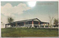 VINTAGE GOLF CLUBS POSTCARD SINNISSIPPI GOLF CLUB HOUSE, ROCKFORD, ILLINOIS 1911