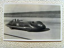 More details for pre ww2 world land speed record major 'goldie gardner' dso rare postcard 1930s