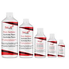 Nail Polish Remover 100% Pure Acetone Nail Tip Acrylic Glue Remover Salon Home