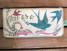 "Disaster Designs "" Free as a Bird"" purse"