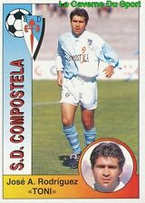 120 TONI ESPANA SD.COMPOSTELA STICKER CROMO LIGA 1995 PANINI