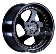 17x8 5X110 JNC 034 GLOSS BLACK made for PONTIAC DODGE SATURN SAAB
