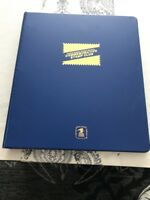 1988-1990 USPS Commemorative Stamp Club Album 36 Pages & 123  Stamps