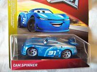 Disney Pixar Cars - Cam Spinner - 2019 release - Next-Gen Piston Cup Racers