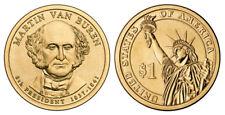 2008 P Martin Van Buren Presidential One Dollar Coin From U.S. Mint Money UNC