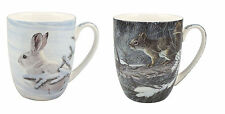 McIntosh Mugs - Robert Bateman - Woodland Animals - Set of 2