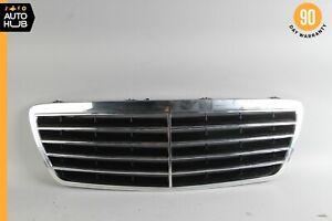00-03 Mercedes W210 E430 E320 E55 AMG Front Hood Radiator Grille Chrome OEM