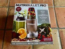 NutriBullet Pro Stainless Steel 900 Watt 9 Piece Nutrition Blender