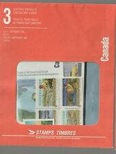 CANADA July-September 1993 QUARTERLY PACK  vehicles toronto rivers folklore