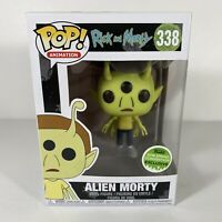 Funko Pop! Rick and Morty Alien Morty 338 2018 Spring Convention Exclusive MIB