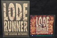 Lode Runner: The Legend Returns (PC, 1994) Game + Manual - Mint Disc 1 Owner !