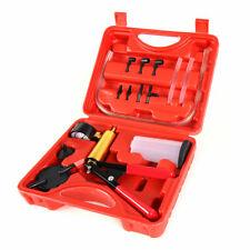Brake Bleeder Vacuum Pump Tester Hand Held Tool Kit Adapters Included Car Motor
