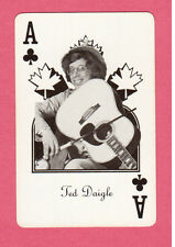 Ted Daigle Vintage Canadian Country Music Playing Card