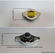 0.9 Bar Tapa Del Radiador japonés se ajusta Rover/HONDA/HYUNDAI/DAIHATSU
