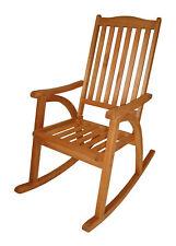 Schaukelstuhl Schaukelsessel Gartenmöbel Stuhl Rio Holz Fsc-zertifiziert