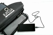iURJA 5V 18W Solar Panel USB Portable External Battery BackUp Charger Power Bank
