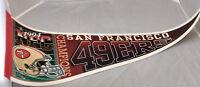 San Francisco 49ers Felt Pennant Banner 1994 NFL Football VTG
