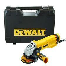 "HEAVY DUTY 110V DEWALT DWE4206K 1010W 4.5"" 115MM ELECTRIC ANGLE GRINDER & CASE"