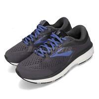 Brooks Dyad 10 Extra Wide Black Ebony Blue Women Running Shoes Sneaker 120275 2E