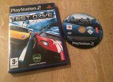 Test Drive Unlimited-Playstation 2 PS2 juego PAL