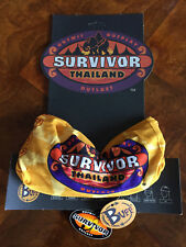 SURVIVOR BUFFS: Thailand Gold Chuay Jai Tribe Buff - New on Original Display