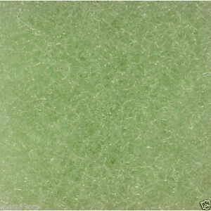 """28"""" x 12"""" Green Fine Universal Filter Mat - 1"""" Thick - pond filtration-pad"""