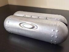 Oakley Glasses Metal Vault Case Torpedo Micro Fiber Cloth storage box clam shell