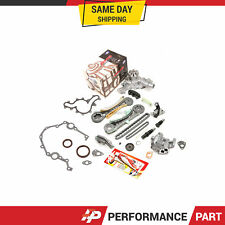 Timing Chain Kit Timing Cover Gaskets Oil Water Pump for 97-11 Ford 4.0 SOHC V6