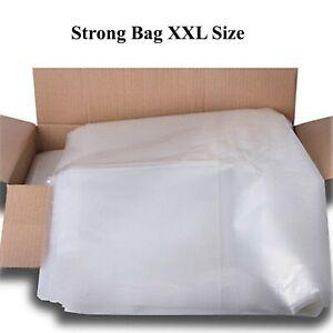 Clear Wheelie Bin Liners Strong Heavy Duty Rubbish Sack Big Refuse Bin Bags