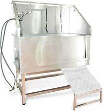 50' Pet Dog Grooming Bath tub Stainless Steel Professional Wash Stastion