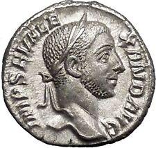 SEVERUS ALEXANDER Rome mint Silver Ancient Roman Coin Liberality Cult  i50012