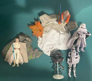 """Star Wars The Black Series Luke Skywalker Lot Probe Droid, Trooper Deluxe 6"""" Lot"""