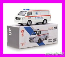 NOV 2018 #48 JBC Jinbei CHINA Beijing Ambulance 1:64 XCARTOYS