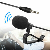 3.5mm Microphone Car Radio Stereo GPS DVD Bluetooth Enabled Audio External Mic