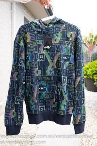 BNWT O'NEILL Men's Hoodie Jumper Sweater Size S Black
