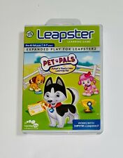 LEAP FROG LEAPSTER LEAPSTER2 LEAPPAD EXPLORER GAME PET PALS  AGES 4-7 YRS