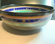 ART DECO CROWN DEVON  HAND CRAFTED FIELDING BOWN  IN GREAT CONDITION
