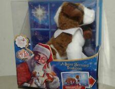 NEW ! Elf On The Shelf Pets St SAINT BERNARD TRADITION BOOK AND DOG Plush  Toy