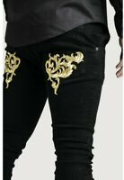 "Sik Silk x Dani Alves Low Rise Skinny Denims. Large (34""). RRP £85"
