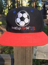 Vintage World Cup 1994 Team USA Snapback Cap Hat