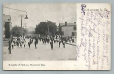 Knights of Pythias Memorial Day Parade PORTSMOUTH OH Rare Antique UDB Lorberg