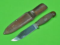 Vintage US CASE Tested XX Hunting Fighting Knife & Sheath