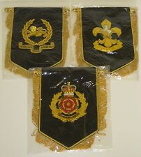 Lancashire Regiments hand embroidered Pennant