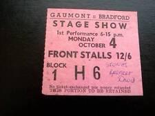 Rolling Stones ticket Bradford Gaumont 04/10/65 Spencer Davis