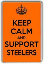 KEEP CALM AND SUPPORT STEELERS, SHEFFIELD STEELERS Fridge Magnet