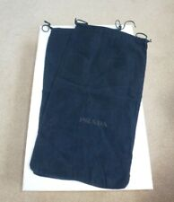 NEW PRADA BOND STREET LONDON Pair of Dust Bags x2.